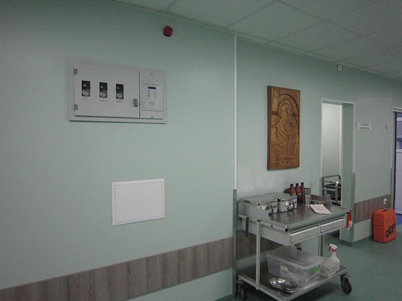 Nemocnice Svaté Anny Bulharsko / LINO Dual, Modul