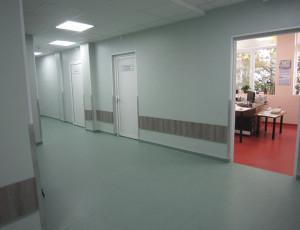Podlahy do nemocnic a laboratoří