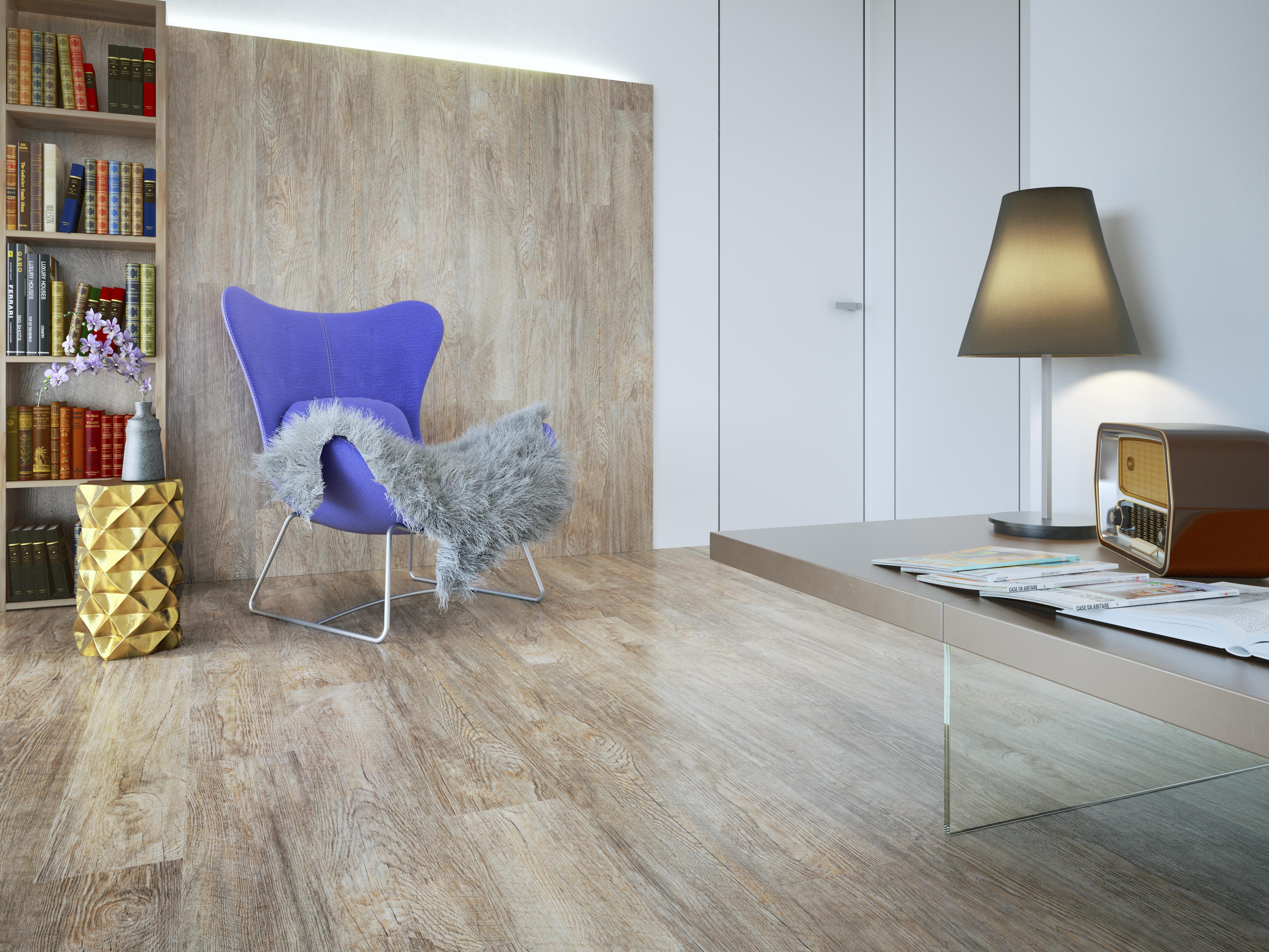 Podlaha pro rychlou a snadnou údržbu