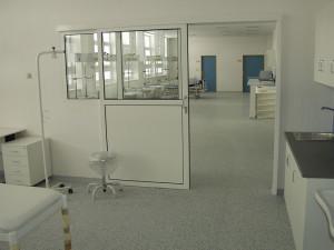 Krankehaus Uherské Hradiště / LINO Elektrostatik