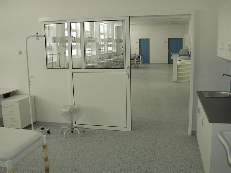 Nemocnice Uherské Hradiště, dětské oddělení / LINO