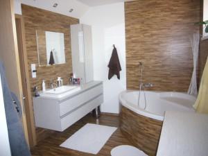 Einfamilienhaus, Badezimmer / Thermofix