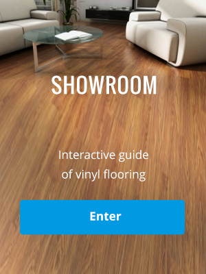 Showroom of flooring Fatrafloor