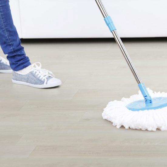 Údržba elastických podlah