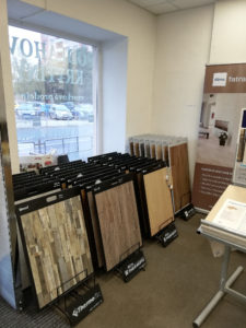 Nově otevřená vzorková prodejna podlahových krytin Fatra ve Znojmě