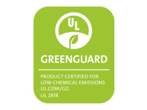 Vinyl flooring WELL-click passed  GREENGUARD certification