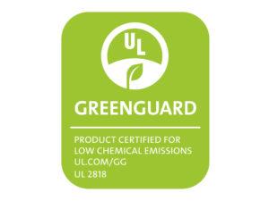 Celovinylová podlaha WELL-click získala certifikaci GREENGUARD