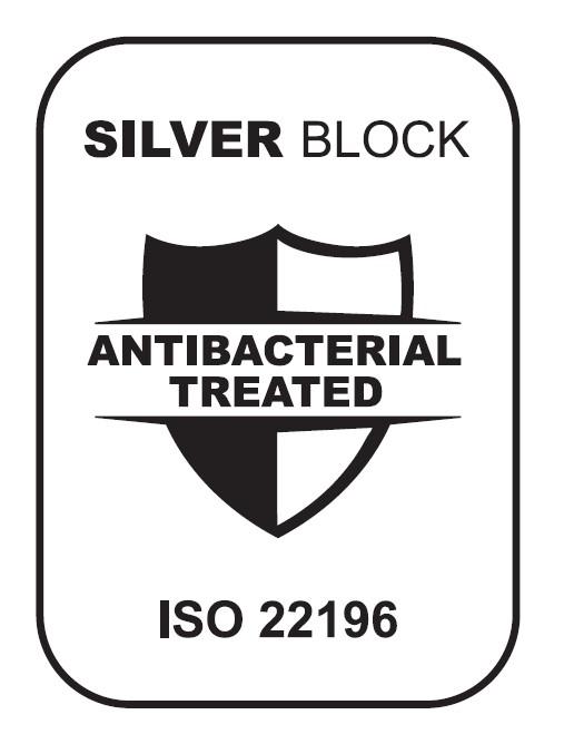 SILVER block - ISO 22196